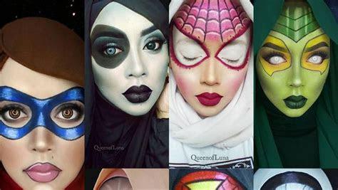 mirip banget hijabers cantik  rias wajah