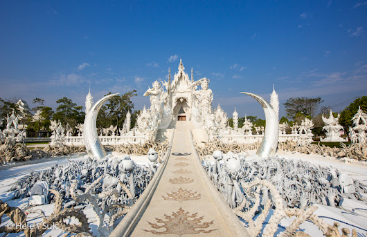 Wat Rong Khun: the White Temple of Thailand