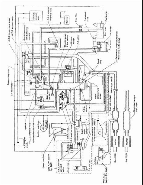 1989 Nissan D21 Vacuum Diagram. Nissan. Wiring Diagram Images