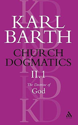 Church Dogmatics, Volume 2: The Doctrine of God, Part 1