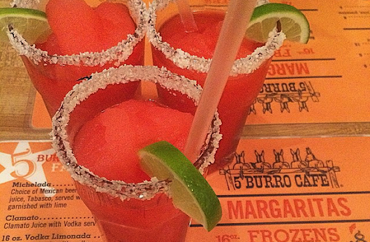 Three's Never a Crowd! | 5 Burro Cafe – NYC Mexican Restaurant & Bar