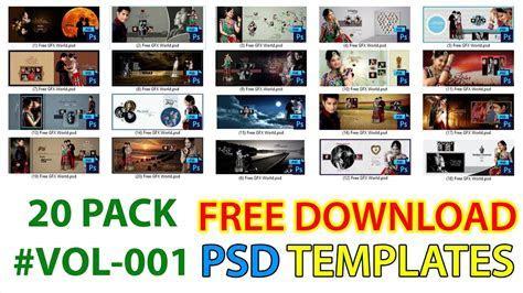 Free Download 12x36 PSD Wedding Creative Album Design
