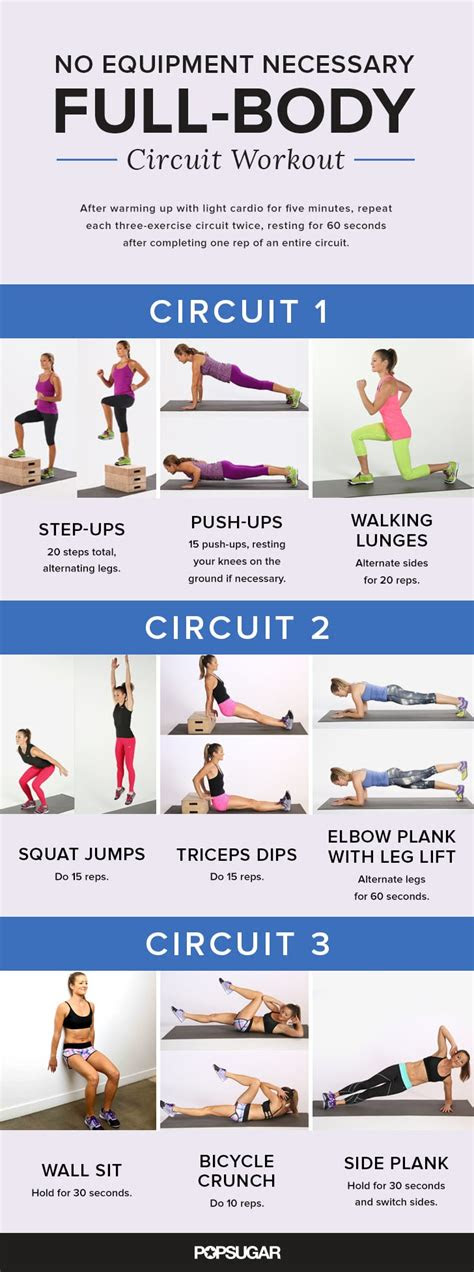 full body circuit workout  strengthen legs abs