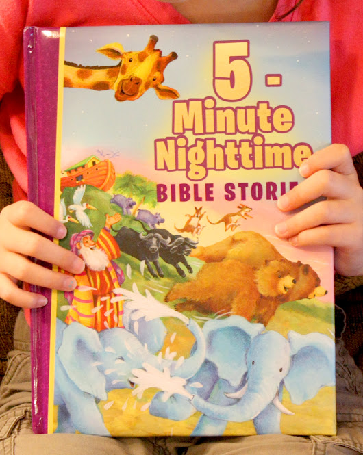 5-Minute Nighttime Bible Stories ~ Book Review and Giveaway (U.S.-8/26)