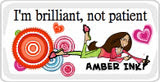 Get an Amber Ink. Badge for your blog!
