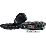 President BILL Compact 40 Channel AM Mobile CB Radio with USB Port & Selectable 7 Color Back-Lit Display