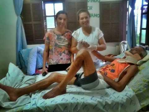 Saúde em São Francisco - Tetraplégico, morador de Gargaú, pede ajuda