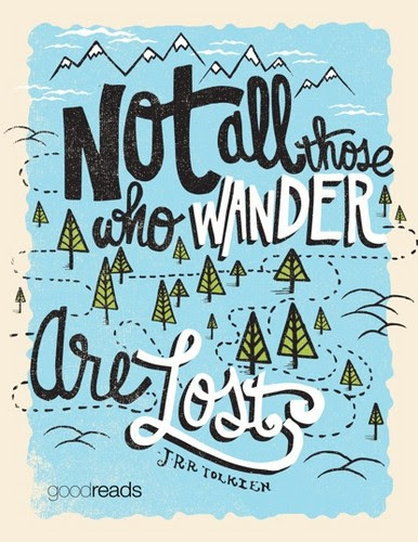 Quotes Afbeeldingen Not All Those Who Wander Are Lost Achtergrond