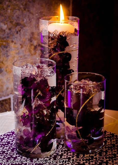 Wisteria Centerpieces by Desiree's DeZigns   Wisteria