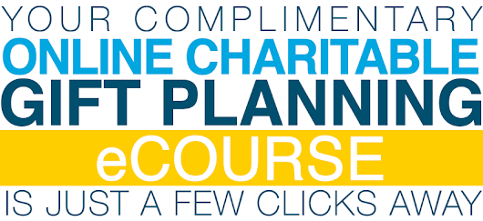 Dr. Russell James' Charitable Gift Planning eCourse | MarketSmart, LLC |