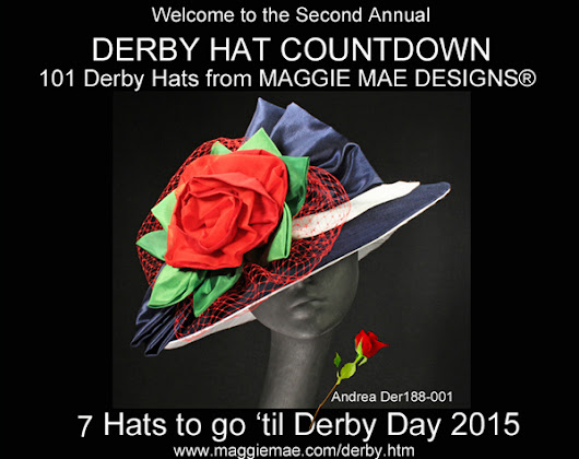 MAGGIE MAE DESIGNS® Derby Hat Countdown - 7 of 101