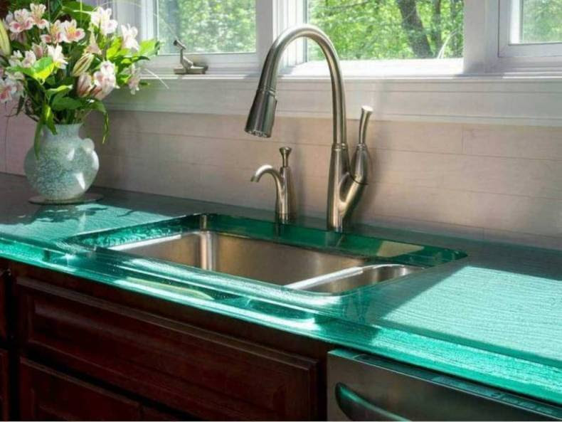 Tempered Glass Countertops