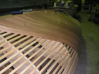 Cold molded boat building | Doela