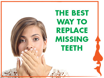 The Best Way to Replace Missing Teeth