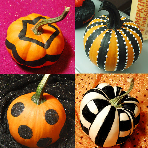 Small Pumpkin Decorations: DIY Home Sweet Home: Fun & Simple Halloween Projects