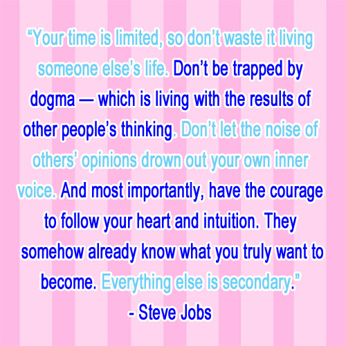 Your Time Is Limited So Dont Waste It Steve Jobs