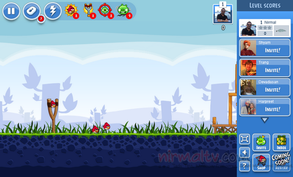 Angry birds for Facebook_1