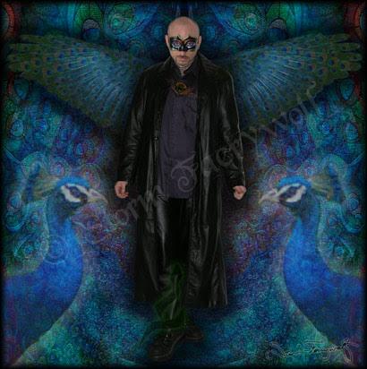 'Return of the Peacock Angel' ©2005 Storm Faerywolf