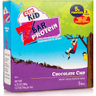 Clif Kid Z Bar Protein, Chocolate Chip - 5 bars, 6.35 oz box