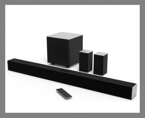 The surround-sound soundbar: VIZIO SB3851-C0