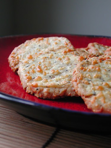 Peppered Parmesan Thins