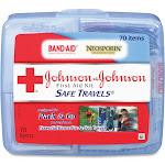 Johnson & Johnson Red Cross Brand Safe Travels First Aid Kit