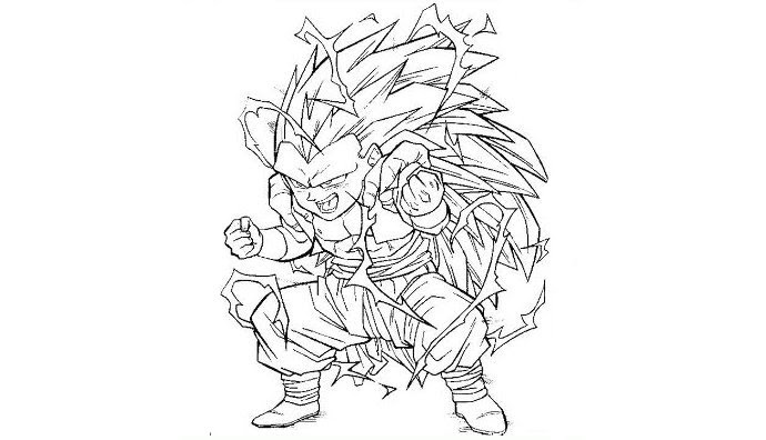 De Coloriages Coloriage A Imprimer Dragon Ball Z