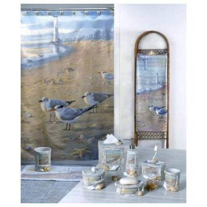 Coastal Shower Curtains
