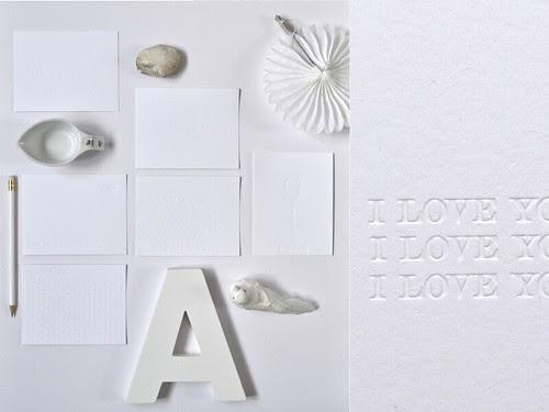 new letterpress cards