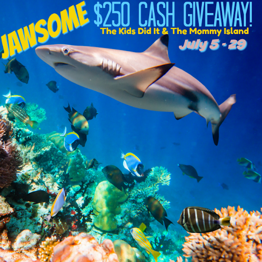 $250 Shark Week Cash Giveaway