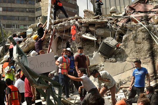 Deadly earthquake strikes central Mexico — CBS News