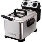 T-fal Family Pro Waffle Deep Fryer, Silver