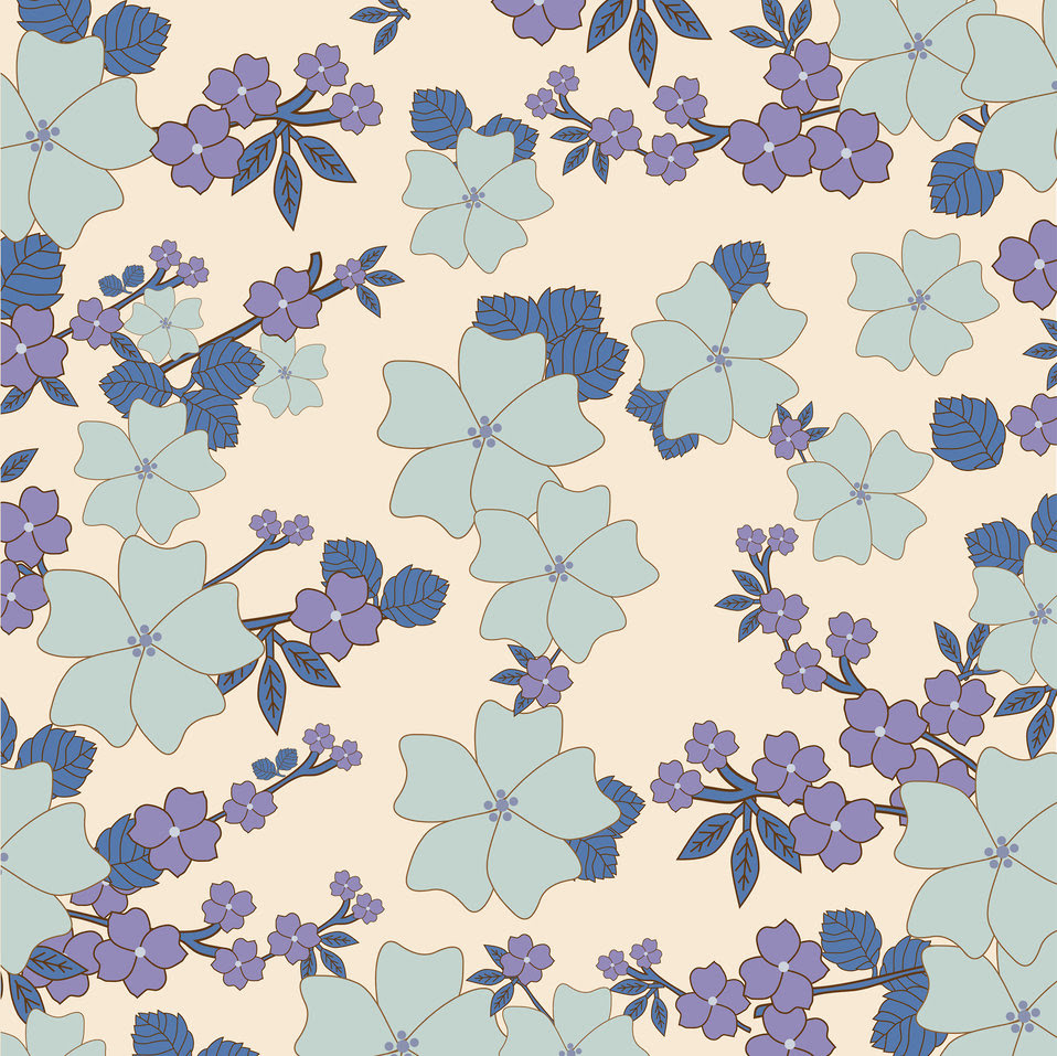 Public Domain Picture Vintage Floral Wallpaper Background Id