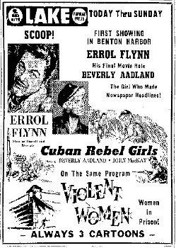 Apocalypse Later Film Reviews: Cuban Rebel Girls (1959)