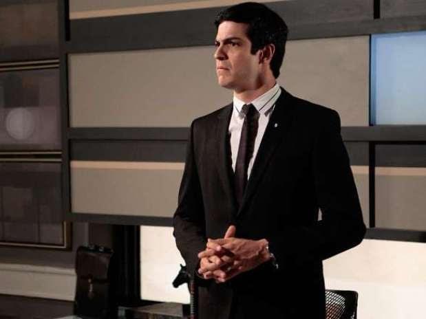 Ator na pele do popular vilão Félix, personagem que interpreta em 'Amor à Vida', da Globo Foto: TV Globo / Divulgação
