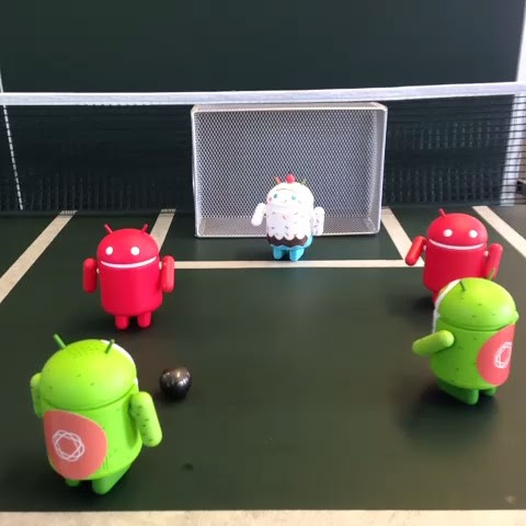 We'll be crossing Goals  off our #Android list later this week! [crowd roars]