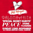 Help Refugees presents Paloma Faith - O2 Forum Kentish Town - London - 22/11/2015 19:00