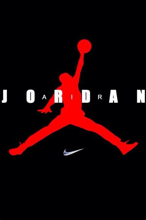 iphone background air jordan nike logo