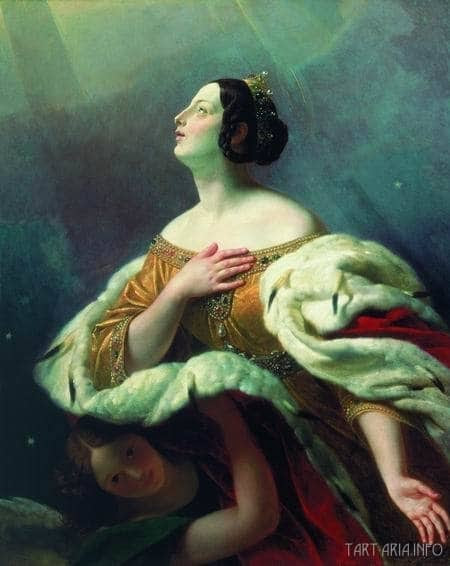 St. Alexandra (К.П. Брюллов. Святая царица Александра, вознесенная на небо)