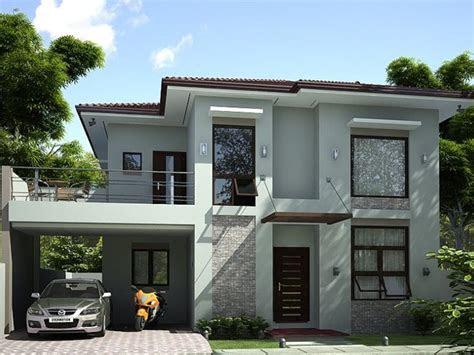 storey simple modern house design prefered house