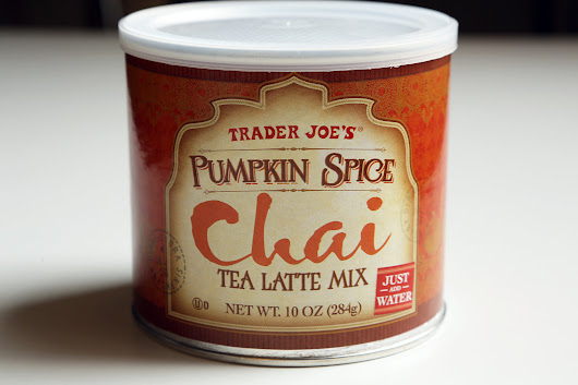 Review: Trader Joe's Pumpkin Spice Chai Latte Mix | that nutrition girl