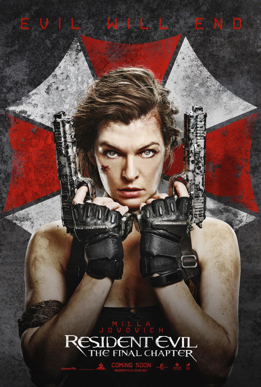 Resultado de imagem para Resident Evil - The Final Chapter