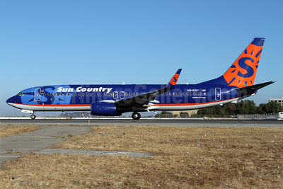 Sun Country Airlines Boeing 737-8Q8 WL N816SY (msn 30637) SFO (Mark Durbin). Image: 909197.