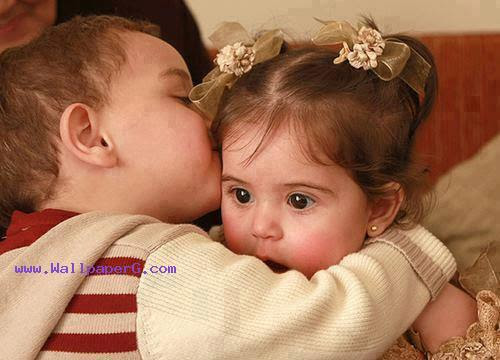 Download Brother Sister Love Cute Baby Mobile Version