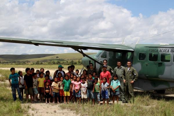 BABV transporta suprimentos para tribo indígena