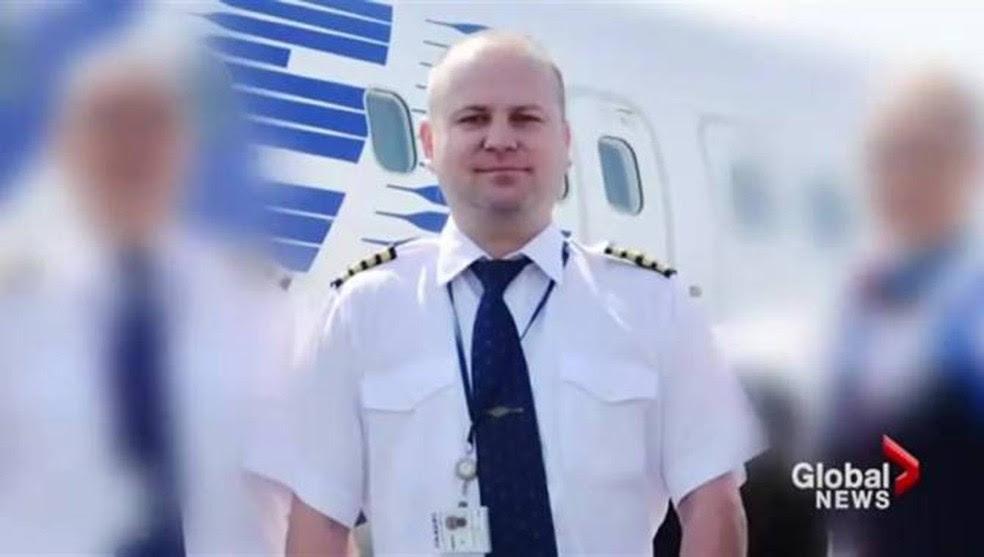 Miroslav Gronych, 37 anos, se declarou culpado de embriaguez enquanto ocupava o comando do avião (Foto: Reprodução/Global News)