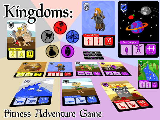 Kingdoms: Fitness Adventure Game by Ill Castle — Kickstarter