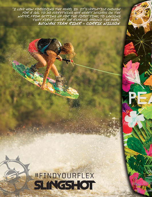 BuyWake.com Blog » The New Slingshot Wakeboard That Every Girl Wants!