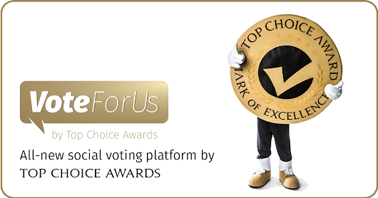 #VoteForUs2017 by Top Choice Awards