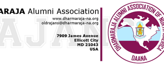 Newsletter_Vol9_Issue01 - DAANA :: Dharmaraja Alumni Association of North America